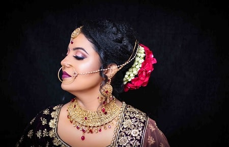 preet kar bridal makeup
