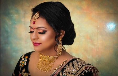 best engagement makeup artist in lucknow