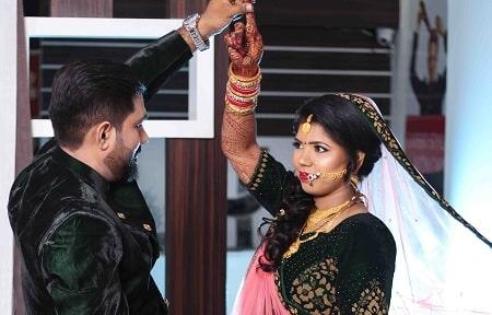 Reception makeup by Preet Kaur
